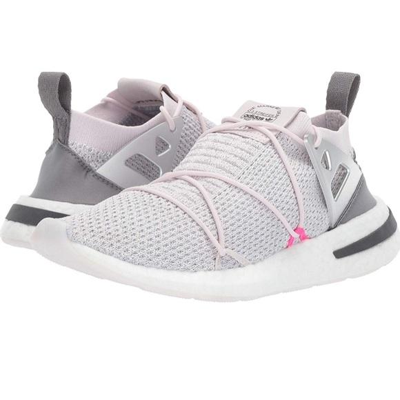 buy popular 157bb 0c5f0 Adidas 3 Streifen Arkyn Grey/White/Pink Sneakers